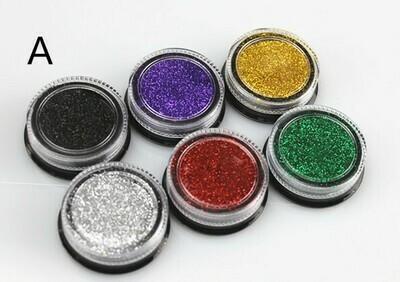 Classic Fine 6 Colors Glitter