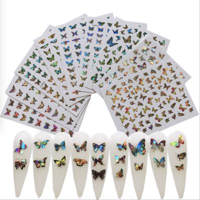 Laser Butterfly Sticker