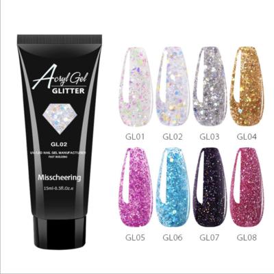 Glitter Poly Gel 15ml
