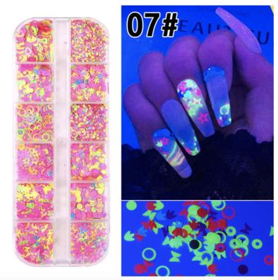 12pcs Butterfly Decoration - 07  ( Luminus )