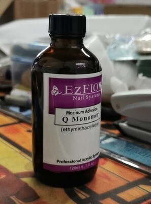 Monomer 120ml Glass Bottle