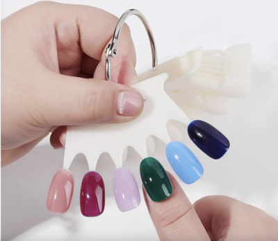 Crown Color Display 60 Nails