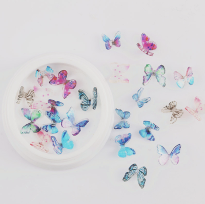 10pcs Butterfly Pot