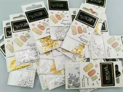 CLEARENCE SALE - Alloy Nail Art 5pcs ( Different Ones )
