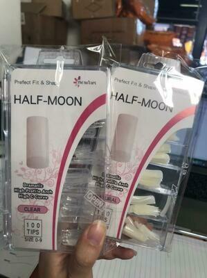 Halfmoon Tips 100pcs