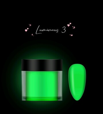Luminous Color Acrylic Powder 10g 12pcs/box - 03