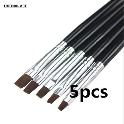 Black Gel Brush 5pcs