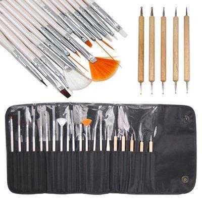 20pcs Manicure Brush