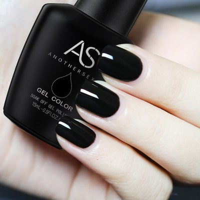 AS Gel Polish - Black