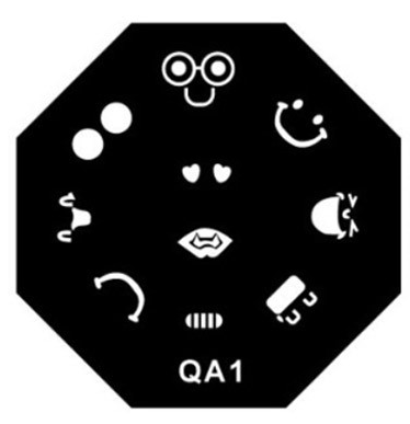 Stamping Plate QA 10pcs Mix ( Different One )