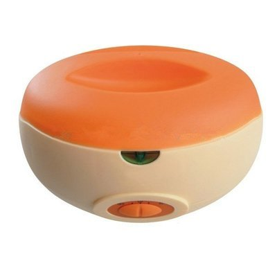Orange Paraffin Therapy Bath Wax Pot 1L Warmer Beauty Salon Spa Wax Heater Machine for Hands and Feet
