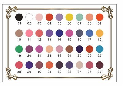 Color Gel 36pcs