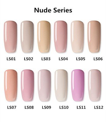 AS Gel Polish - Nude Series