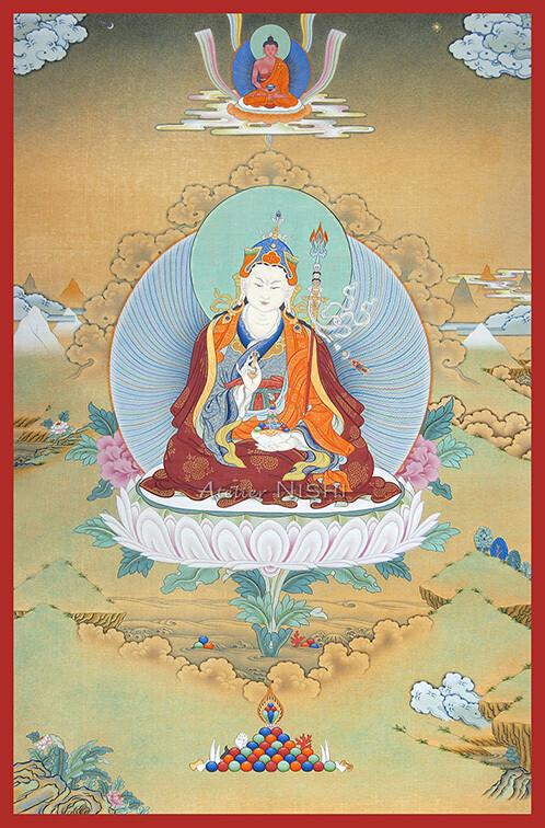 Padmasambhava with Amitabha
