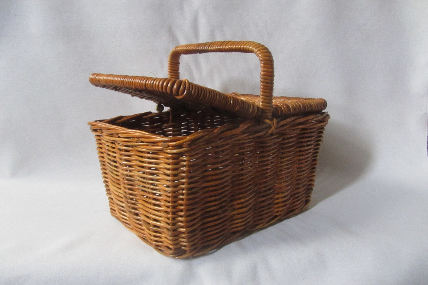 Picture of: Rattan Picnic Basket