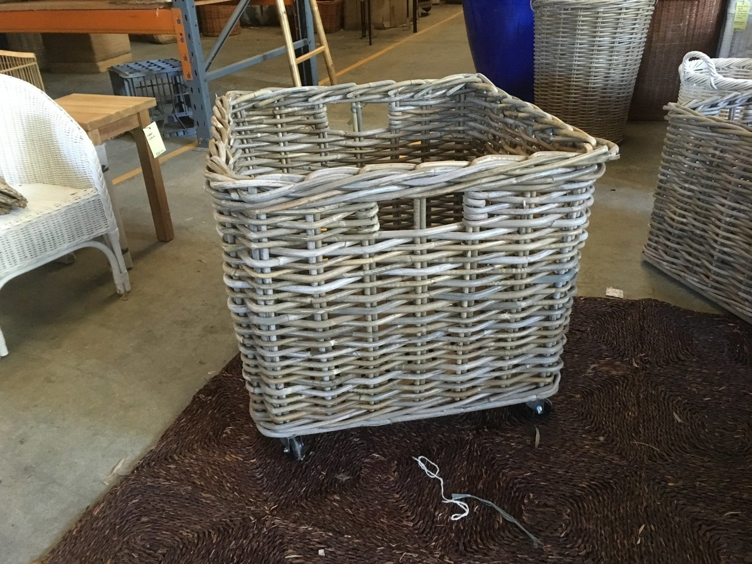 Picture of: Square Log Basket