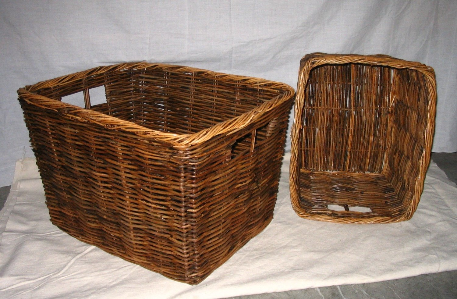 Picture of: Rectangle Log Basket