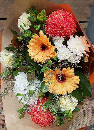 Mixed Disbud Bouquet