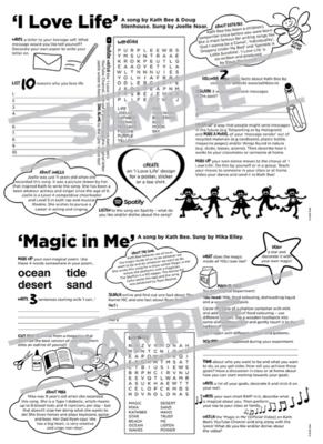 Activity Sheets - I Love Life & Magic in Me