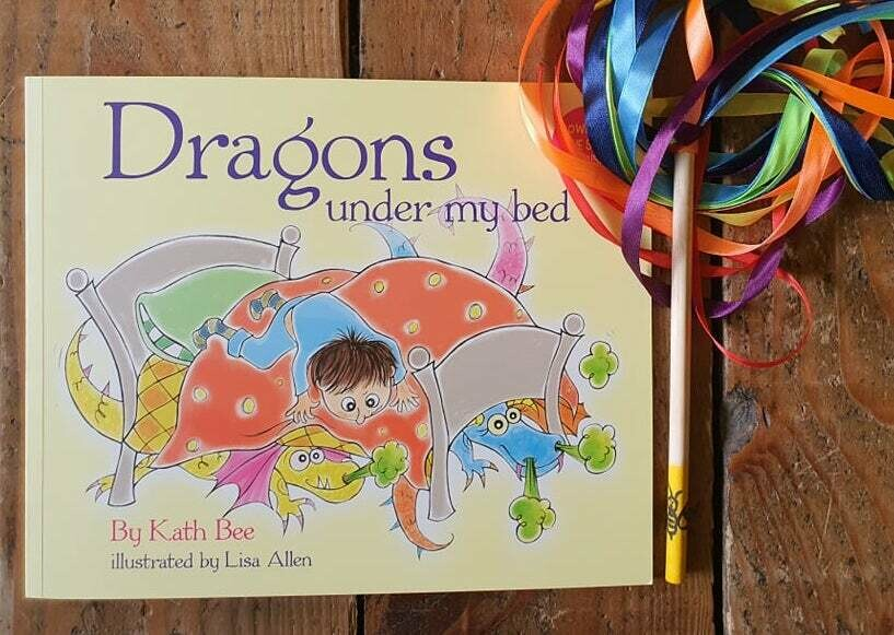 Dragons Under My Bed - Children's Book