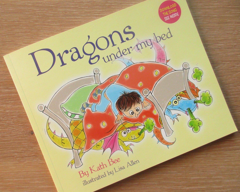 Dragons Under My Bed - Children's Book