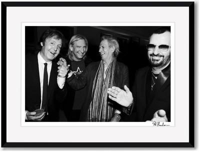 SALE Paul McCartney, Ringo Starr, Keith Richards and Joe Walsh