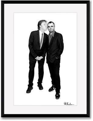 SALE Paul McCartney and Ringo Starr