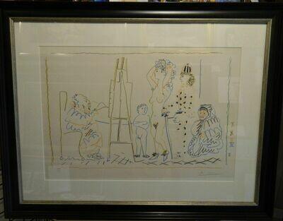 Picasso, L'Atelier du Vieux Peinte/SOLD