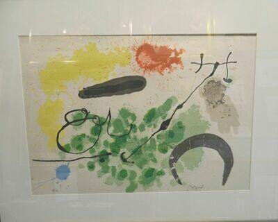 Joan Miro, Le Lezard aux Plumes d'or