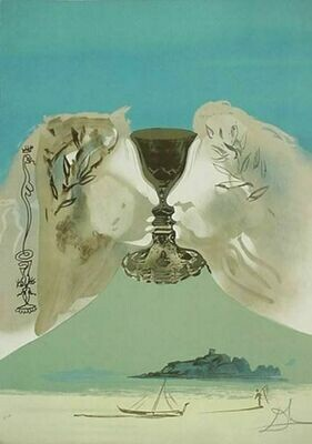 Dali- The Golden Chalice/SOLD