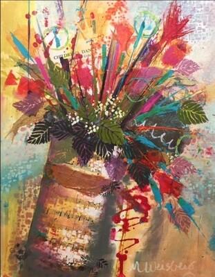 Spring Bouquet Marilyn Weisberg