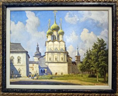 Boris V. Shcherbakov, St John church in Rostov, Russia