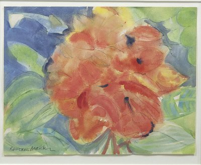 Romare Bearden - Tropical Flowers