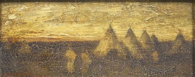 Ralph Blakelock - Indians and Tepes