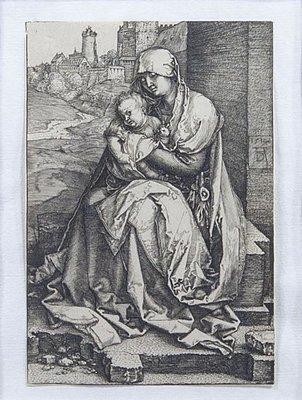 Albrecht Durer - Madonna By The wall/SOLD