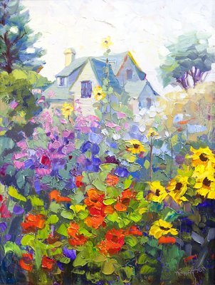 Maryanne Jacobsen - Summer Garden By The Sea