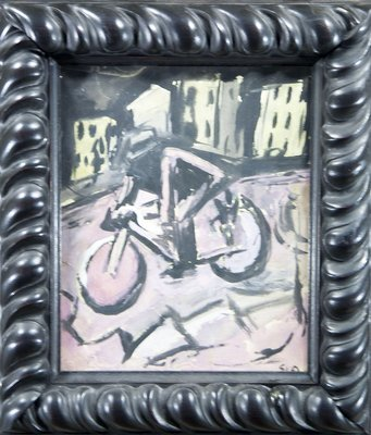 Mario Sironi - The Bicyclist
