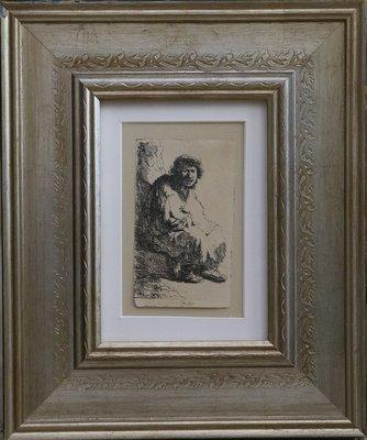 Remrandt- Beggar Seated on a Bank