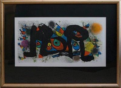 Joan Miro, Des Souvenirs D'enfance/SOLD