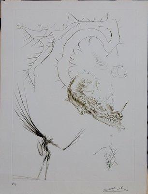 Salvador Dali. Tristan or The Dragon