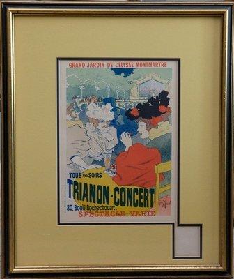 Georges Meunier, Trianon Concert