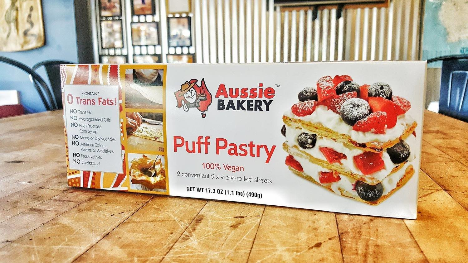4 boxes- Aussie Bakery Puff Pastry