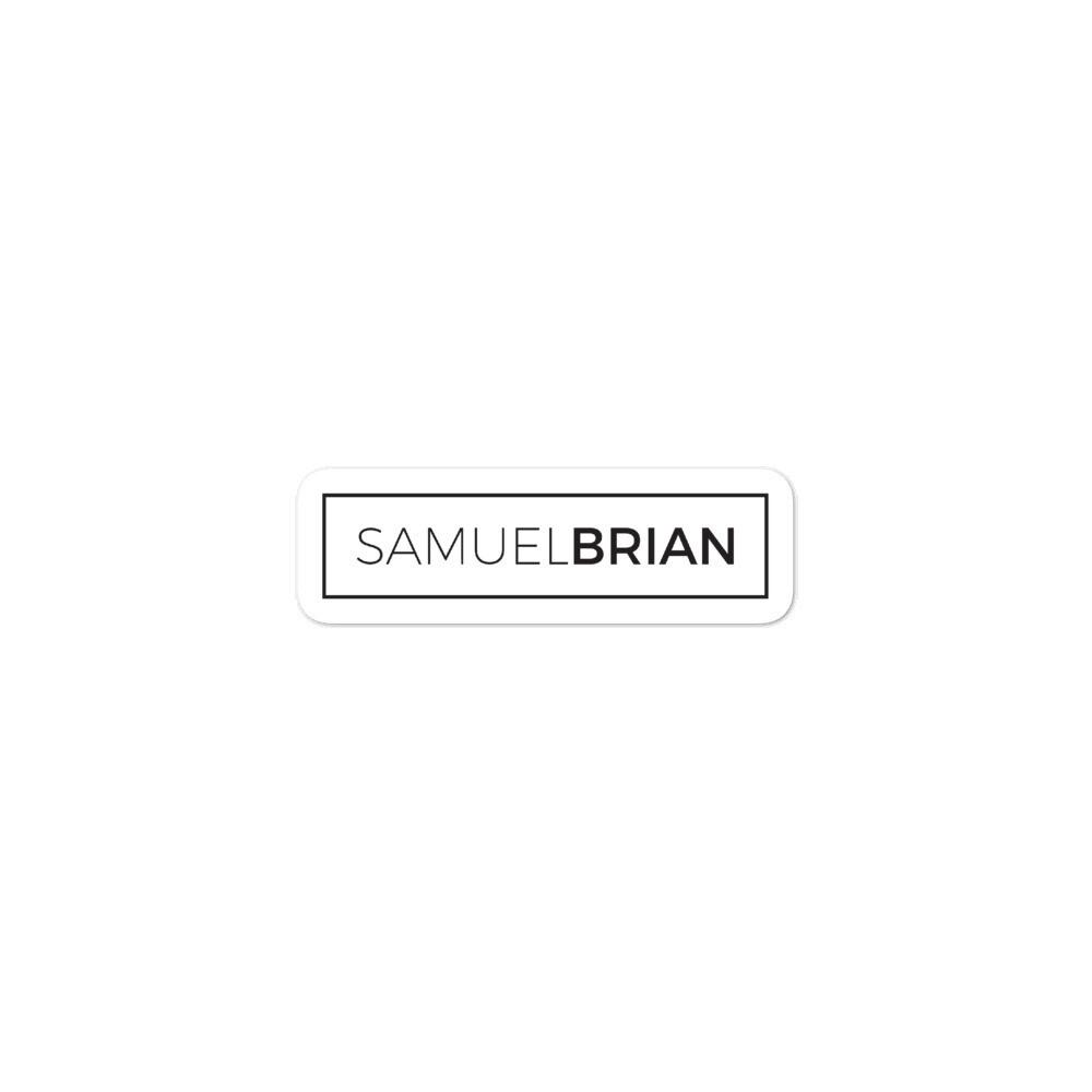 SamuelBrian Sticker