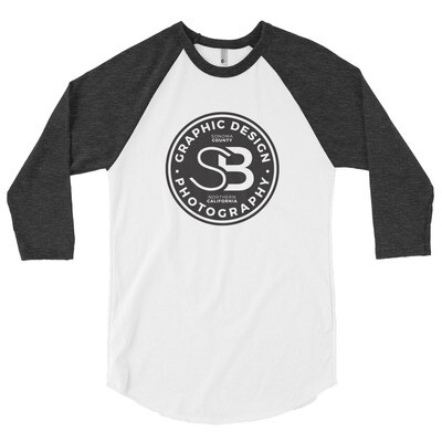 3/4 sleeve raglan shirt