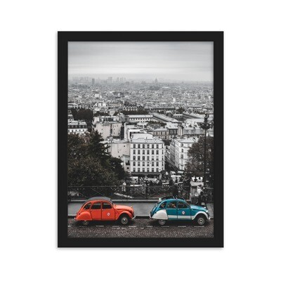 """""""Bonne Vue"""" Framed Print"""