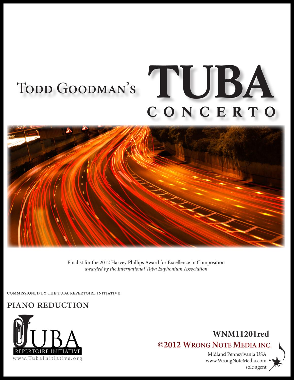 Tuba Concerto - Piano Reduction, by Todd Goodman