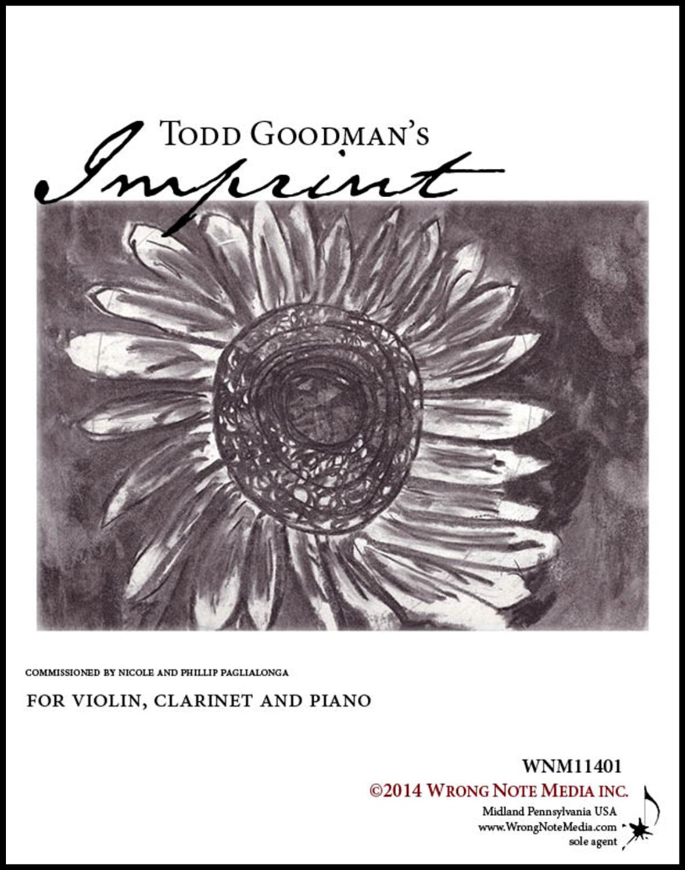Imprint - clarinet, violin, and piano, by Todd Goodman