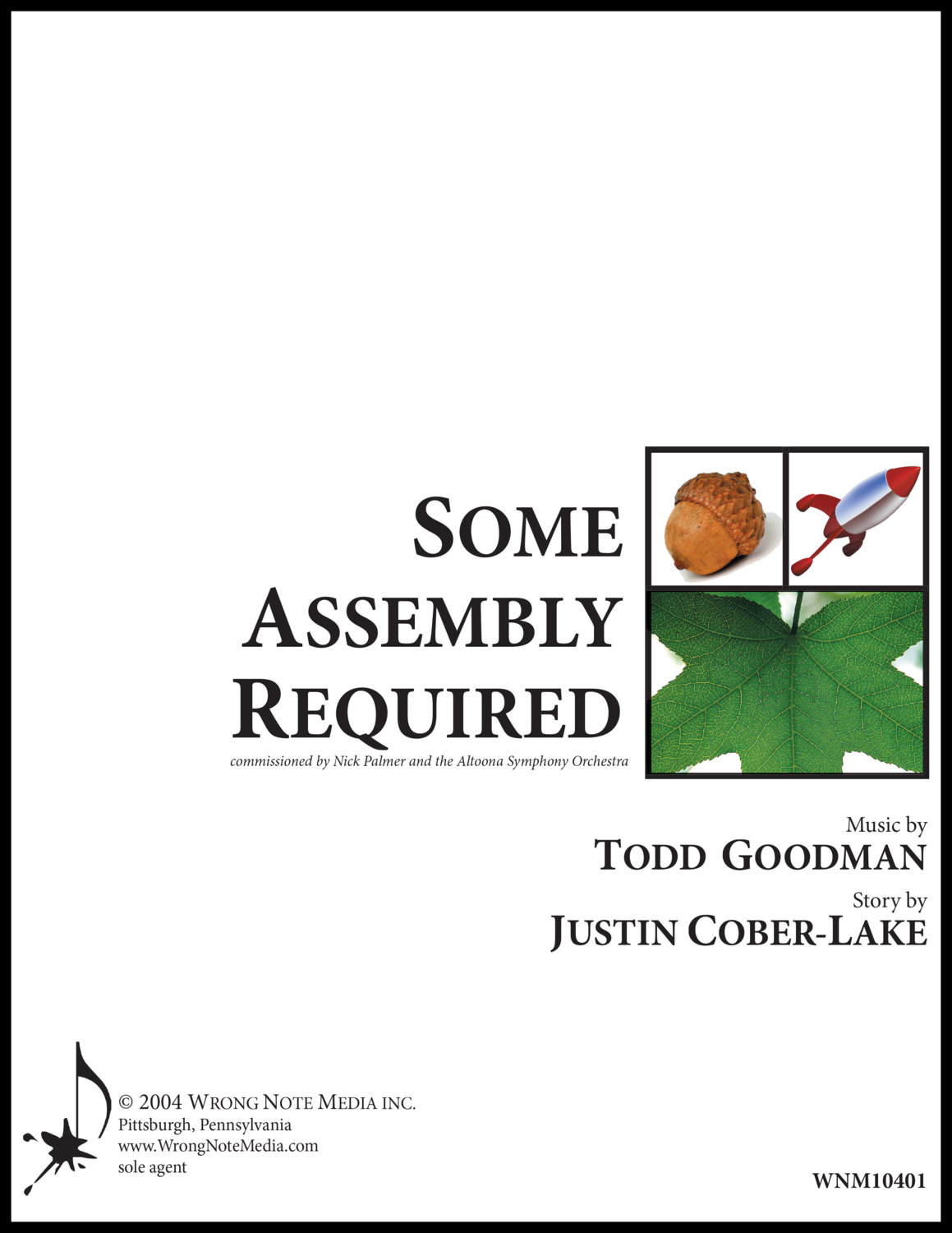 Some Assembly Required - orchestra SCORE, by Todd Goodman