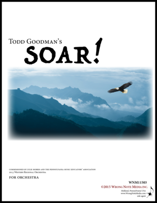 Soar! - orchestra SCORE, by Todd Goodman