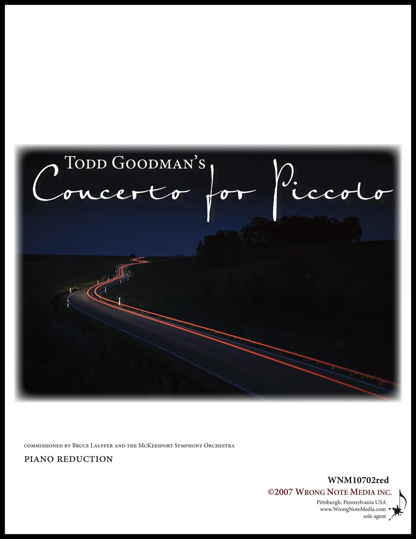 PICCOLO CONCERTO by Todd Goodman